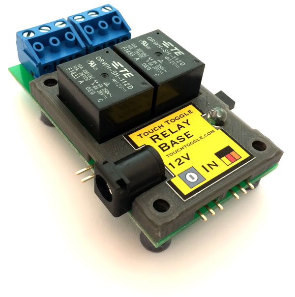 relays are real switches they re fully isolated which makes them ideal to control track power high voltage or high current circuits lighting