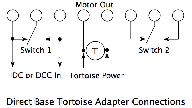 DBTA_site direct tortoise adapter system berrett hill shop Relay Switch Wiring Diagram at gsmx.co